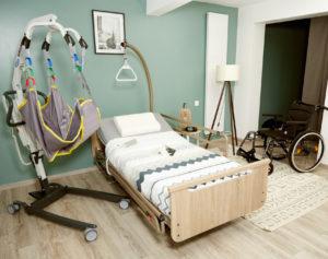 Lits médicalisés à Montélimar : maintien à domicile