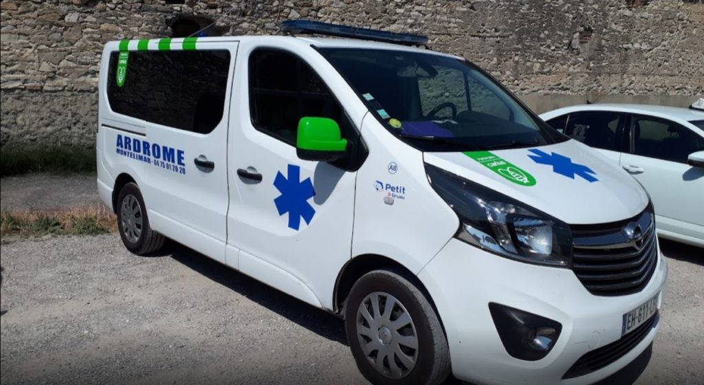 Ambulance à Montélimar