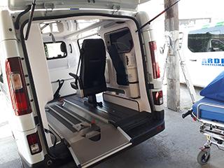interieur Ambulance à Montélimar